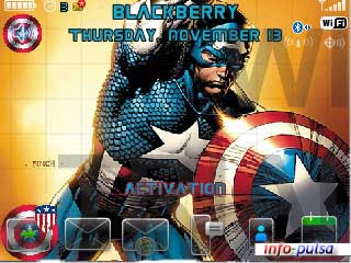 Captain America - BlackBerry Theme