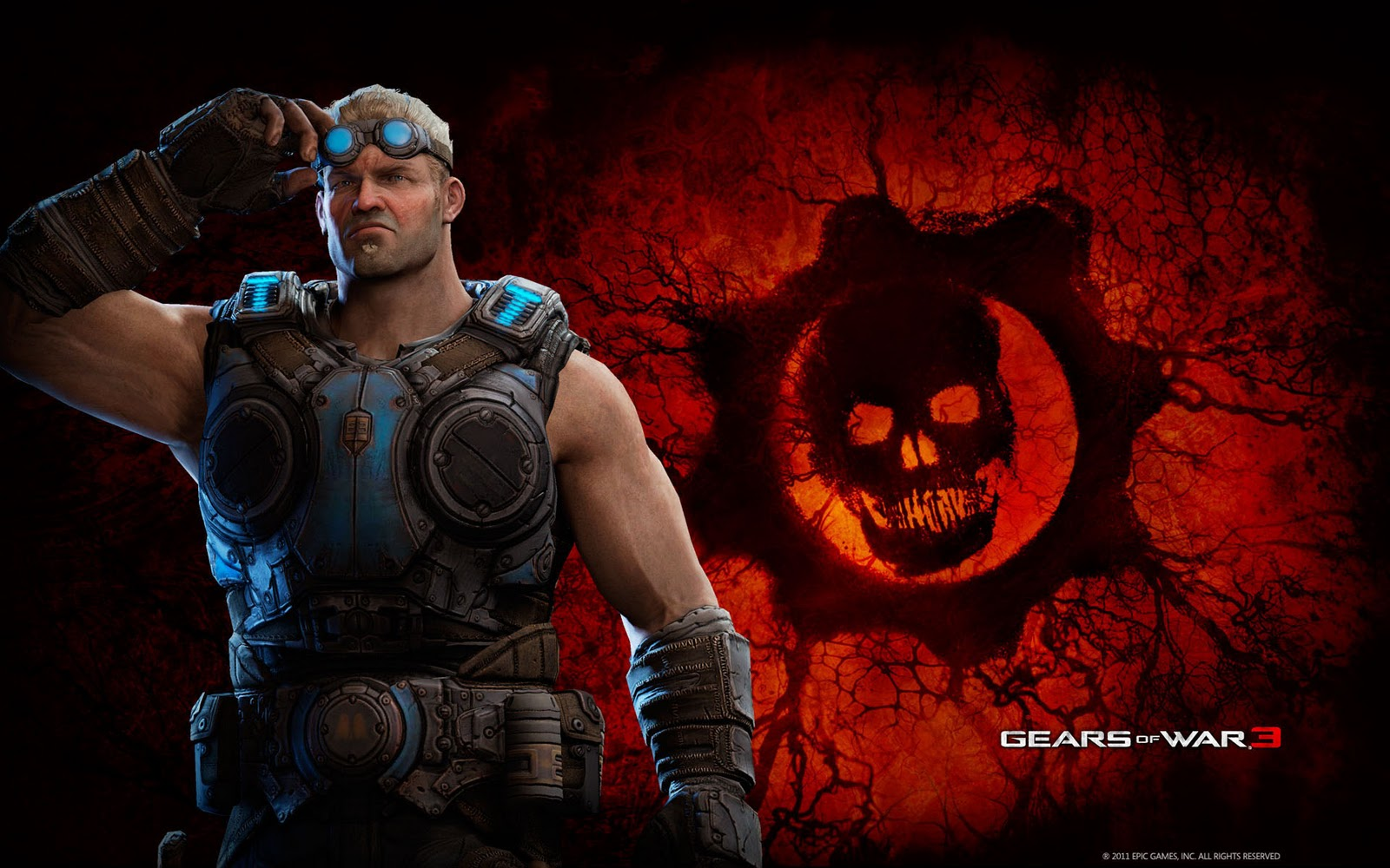 Gears of War HD & Widescreen Wallpaper 0.742359257023203