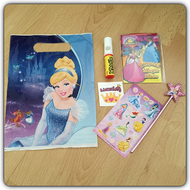 cinderella pre filled party bags