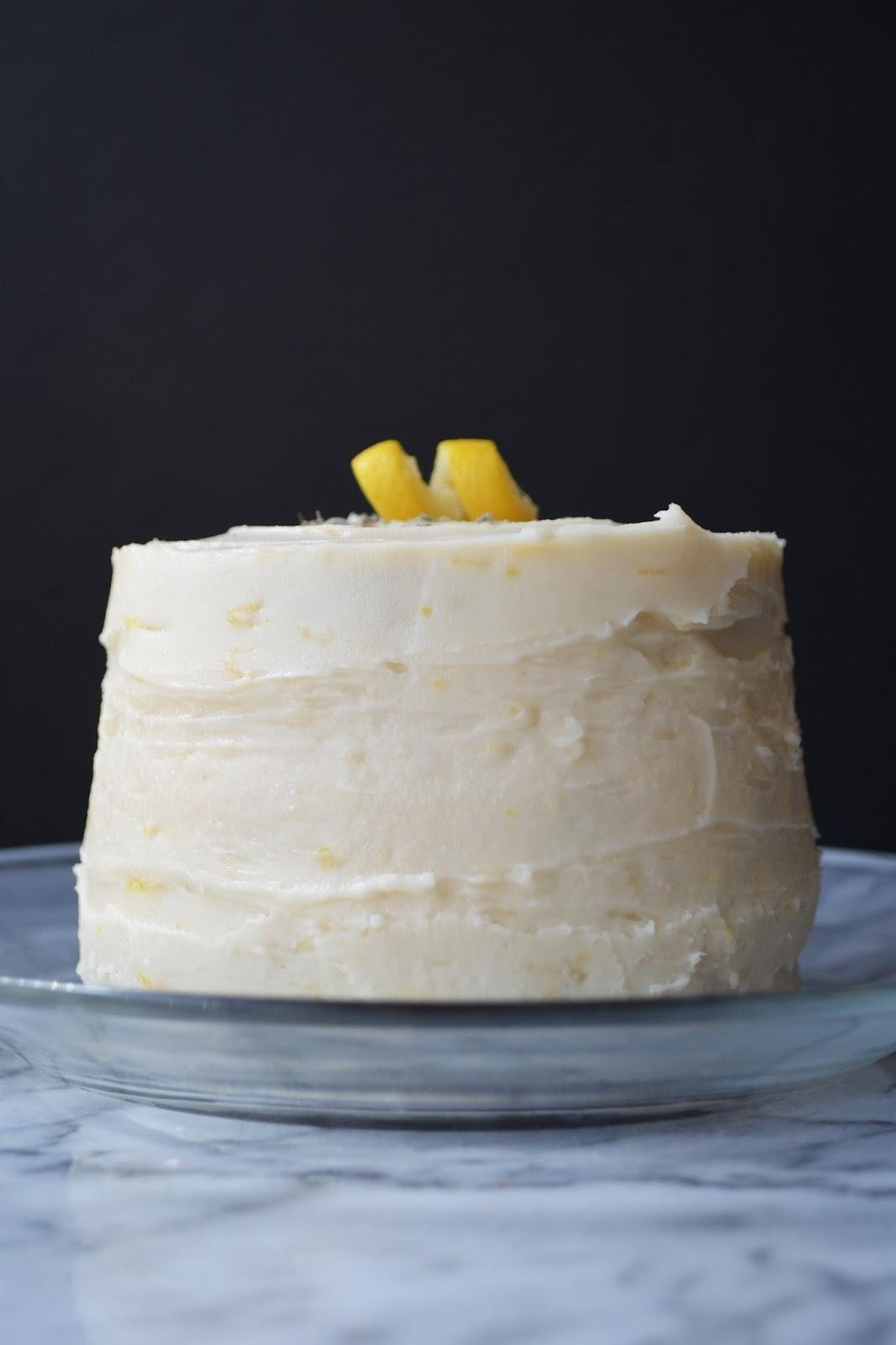 Gluten and Dairy Free Chocolaty Chocolate Cake & Lemon Buttercream Frosting