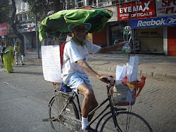 "Oldest participant in ""Mumbai Cyclothon-2011"" carnival ride."