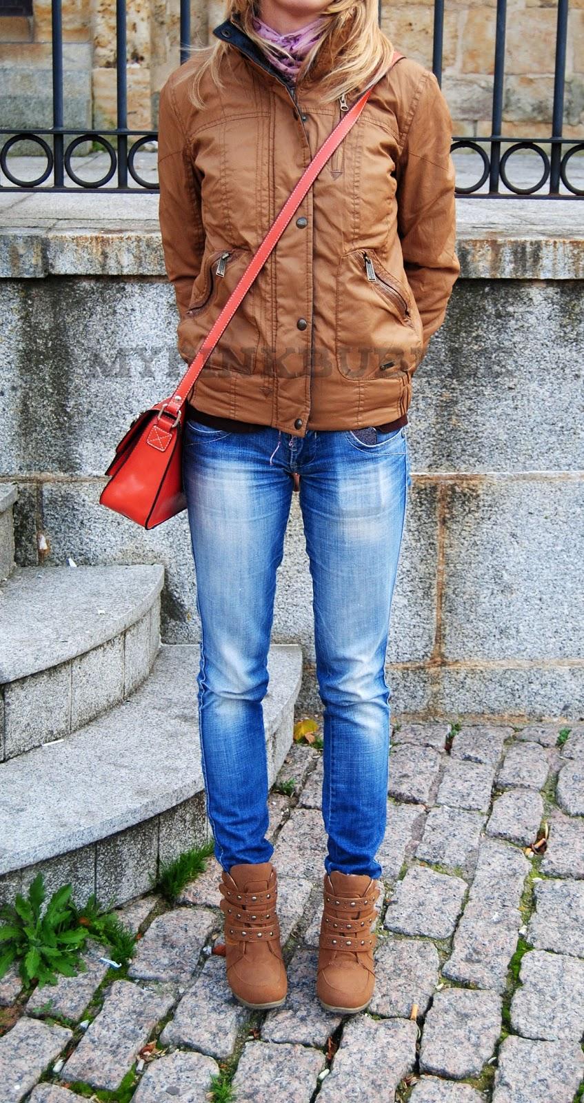 Outfit sneakers my pinkbubble blog de belleza - Combinar color marron ...