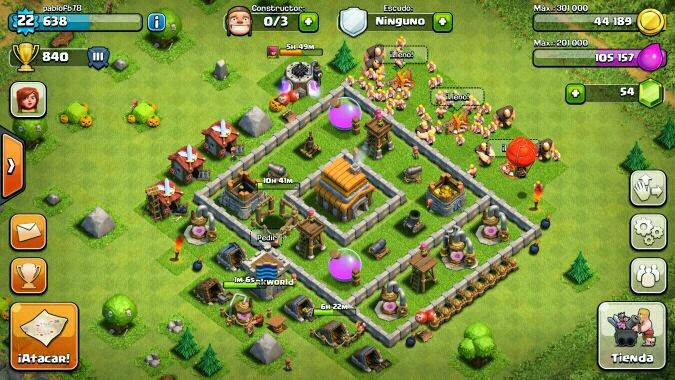 Clash of clans the ghost clan dise os de aldeas - Aldea de constructor ...