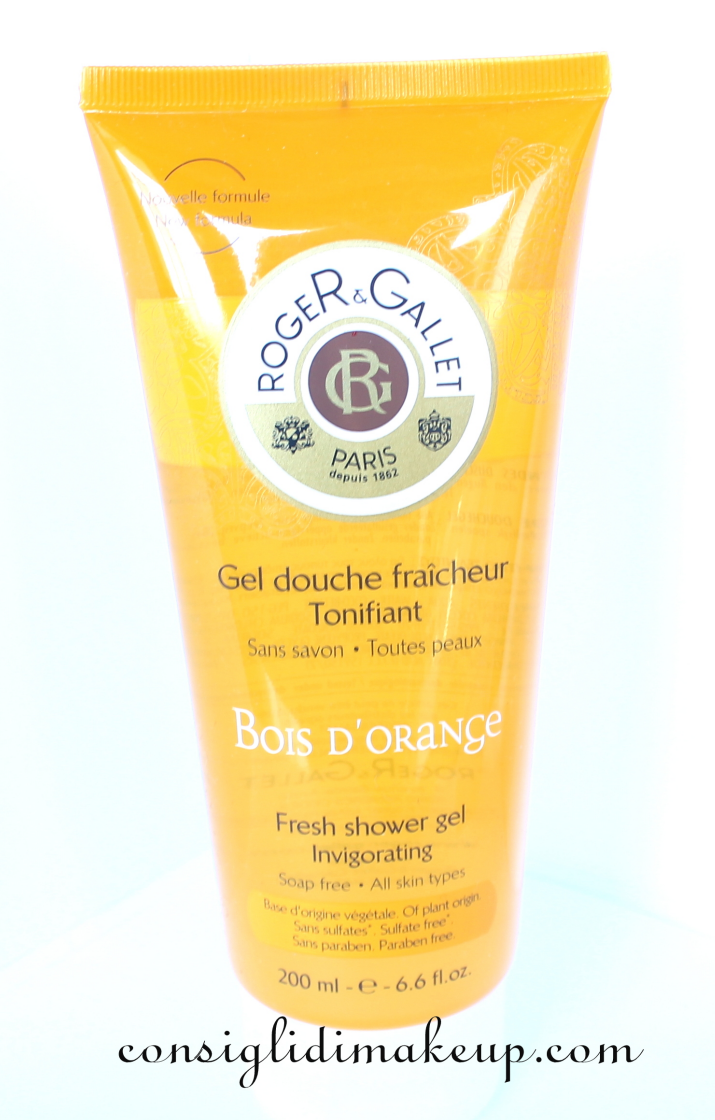 Review: Gel Doccia Bois D'Orange - Roger&Gallet