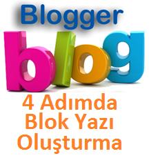 4 Adımda Blok Yazı Oluşturma Kuralları Nelerdir