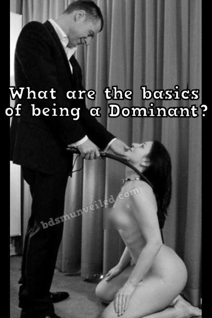 Basics for Dominants