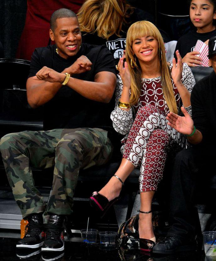 7dce6200e44877 Celeb Sneaker Game  Jayz Rocking PMK X Air Jordan 1 Brooklyn Zoo ...
