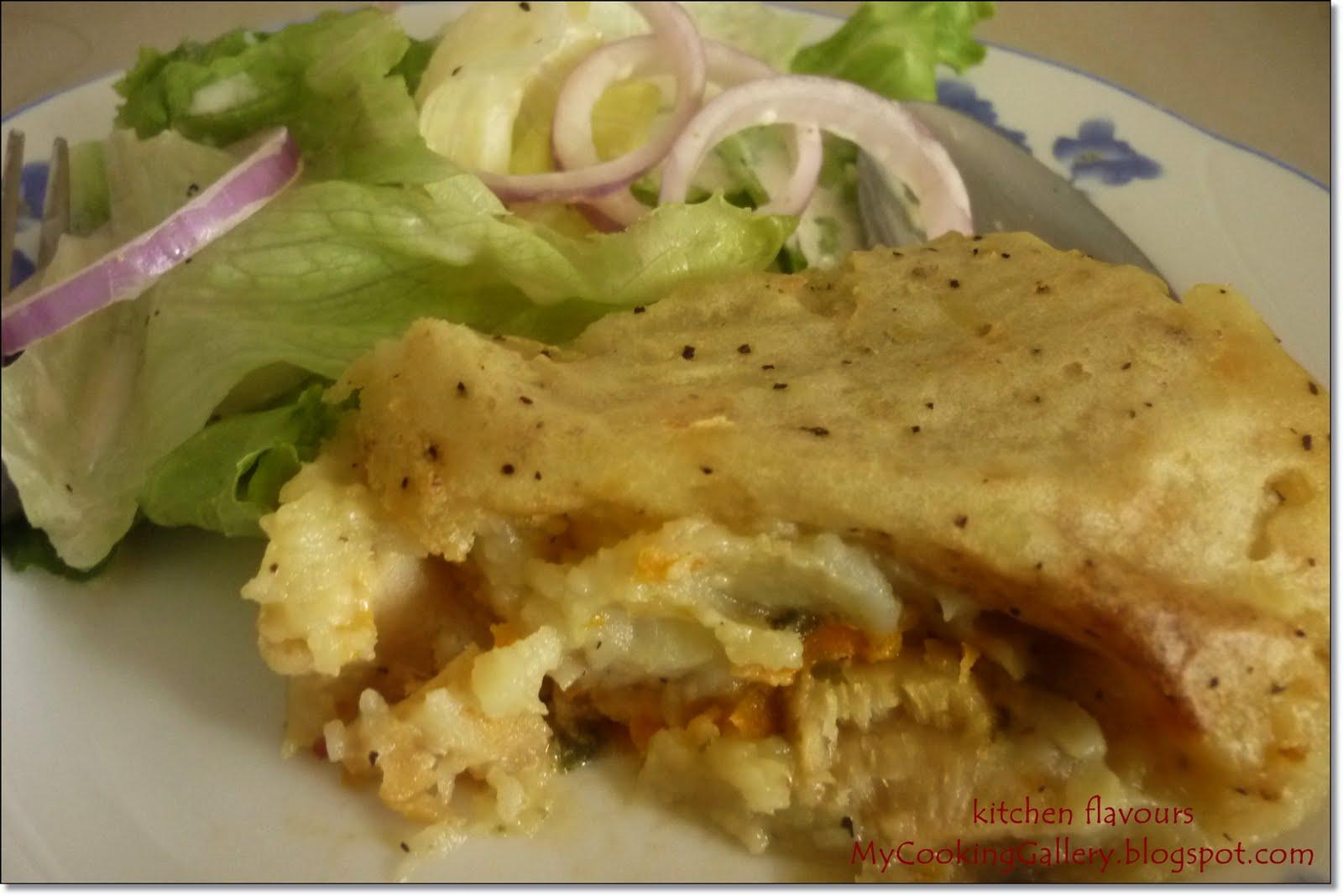 Kitchen flavours jamie 39 s fish pie for Fish pie jamie oliver