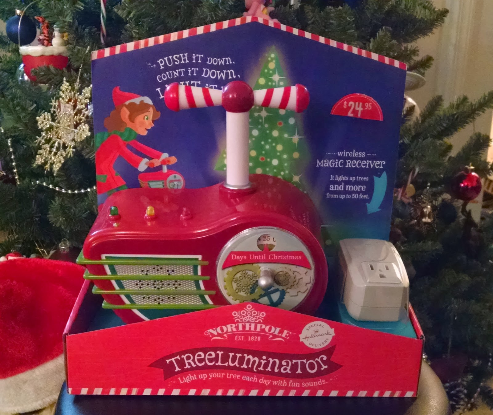 Toy Review: Northpole Treeluminator
