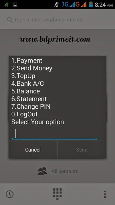 Recharge mobile by DBBL account