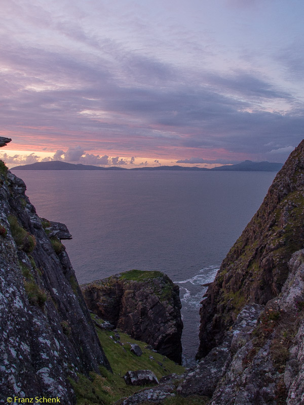 gorge down to Dingle Bay