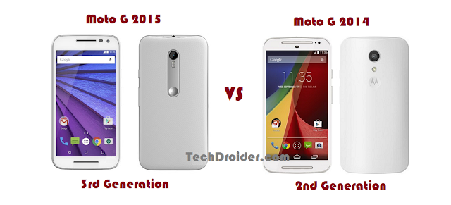 Moto G 2015 3rd Generation VS Moto G 2014 2nd Generation
