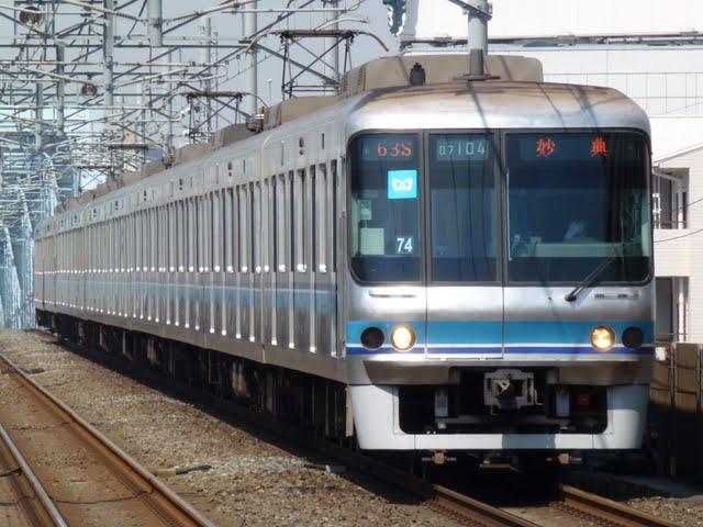 東京メトロ東西線 妙典行き4 07系