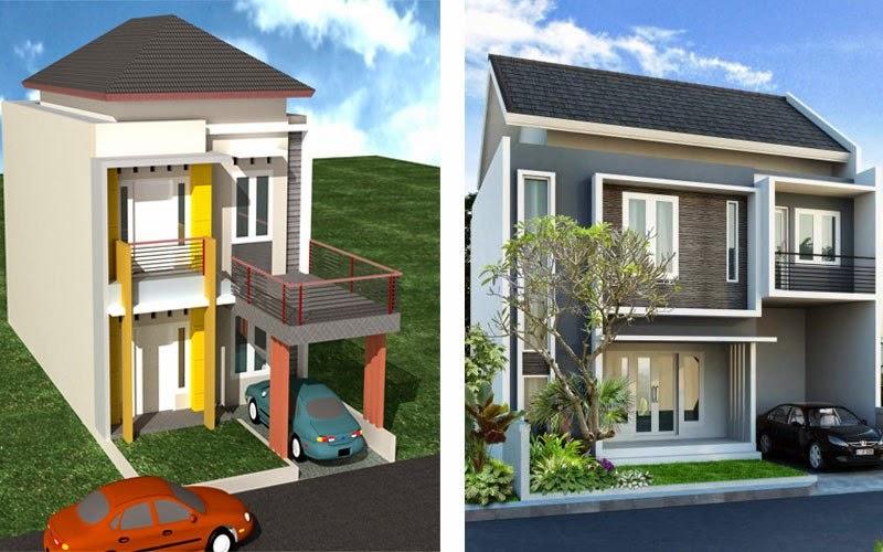 10 desain rumah minimalis 2 lantai modern sederhana 2017