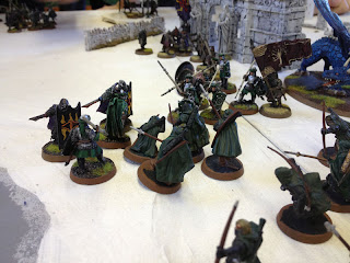 The Hobbit SBG Rangers of Arnor attack