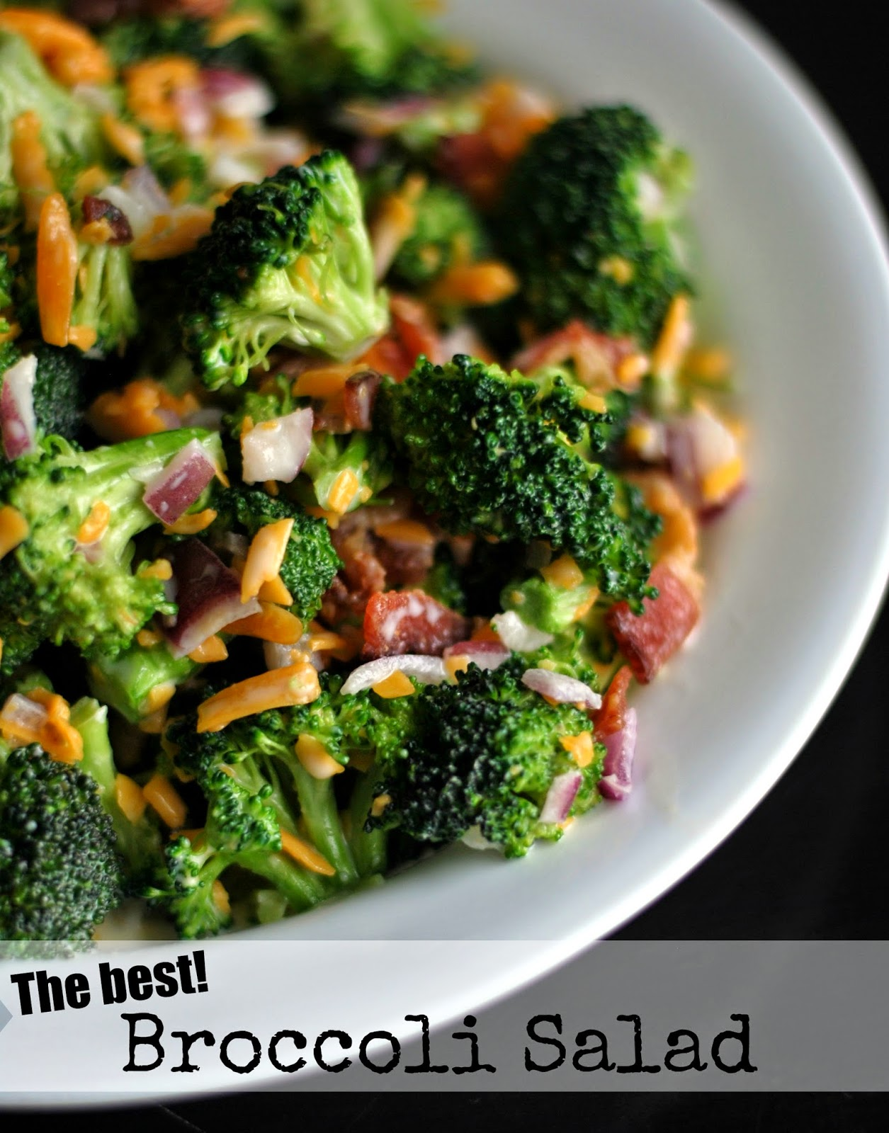 The Best Broccoli Salad | Aunt Bee's Recipes