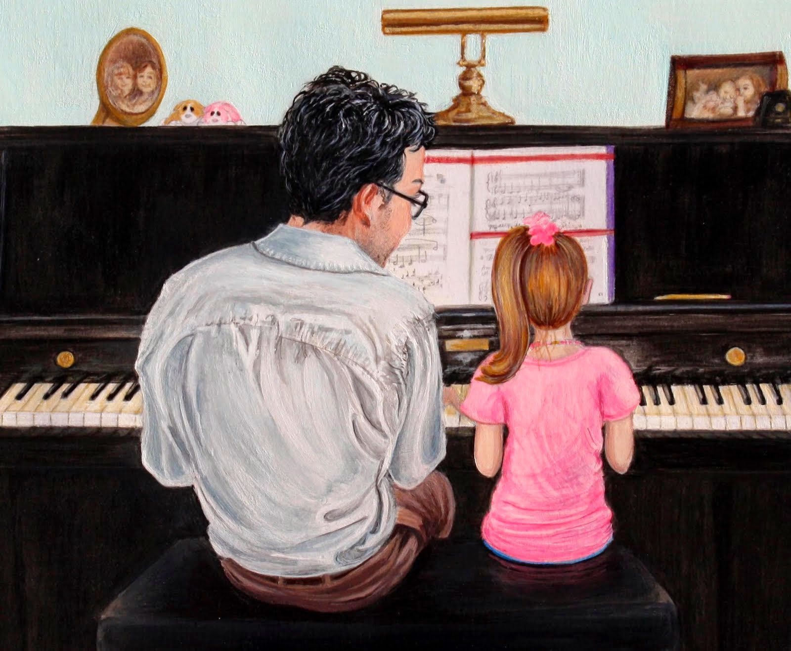 The Piano Lesson Close Up