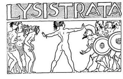 """Lisistrata+Antigua Grupo de Teatro Festero con Lisístrata de Aristófanes"""" el 03.y 04.Febrero en Calpe"""