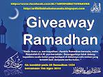 Giveaway Ramadhan kembali lagi!!