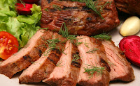 meat and healthy diet plan
