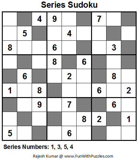 Series Sudoku (Fun With Sudoku #15)