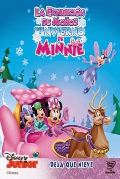 La Casa de Mickey Mouse: La Exhibicion de Moños de Invierno de Minnie