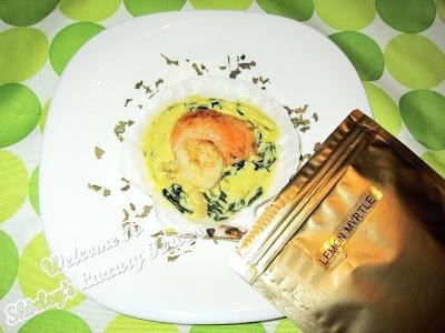 gryphon tea pan seared scallops lemon myrtle cream
