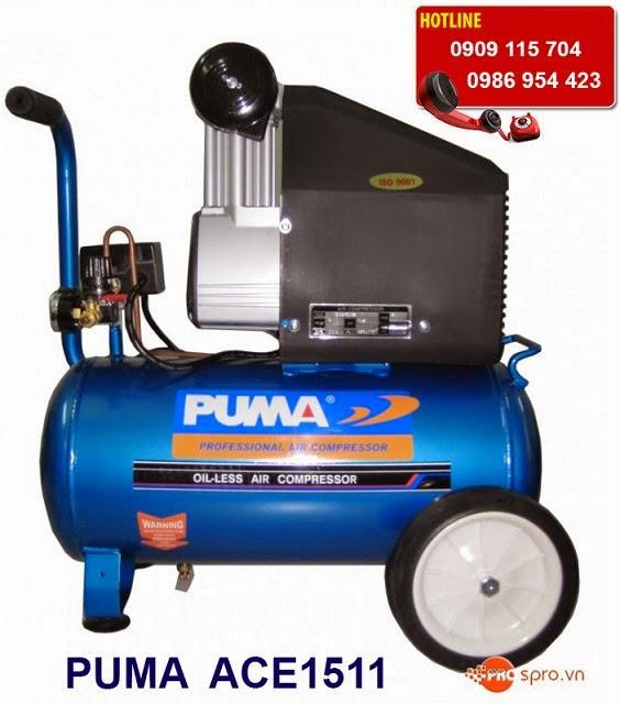 Máy bơm hơi - Máy nén khí 1.5 HP PUMA ACE1511