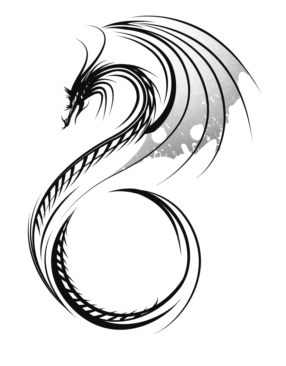 Free Dragon Tattoo Designs