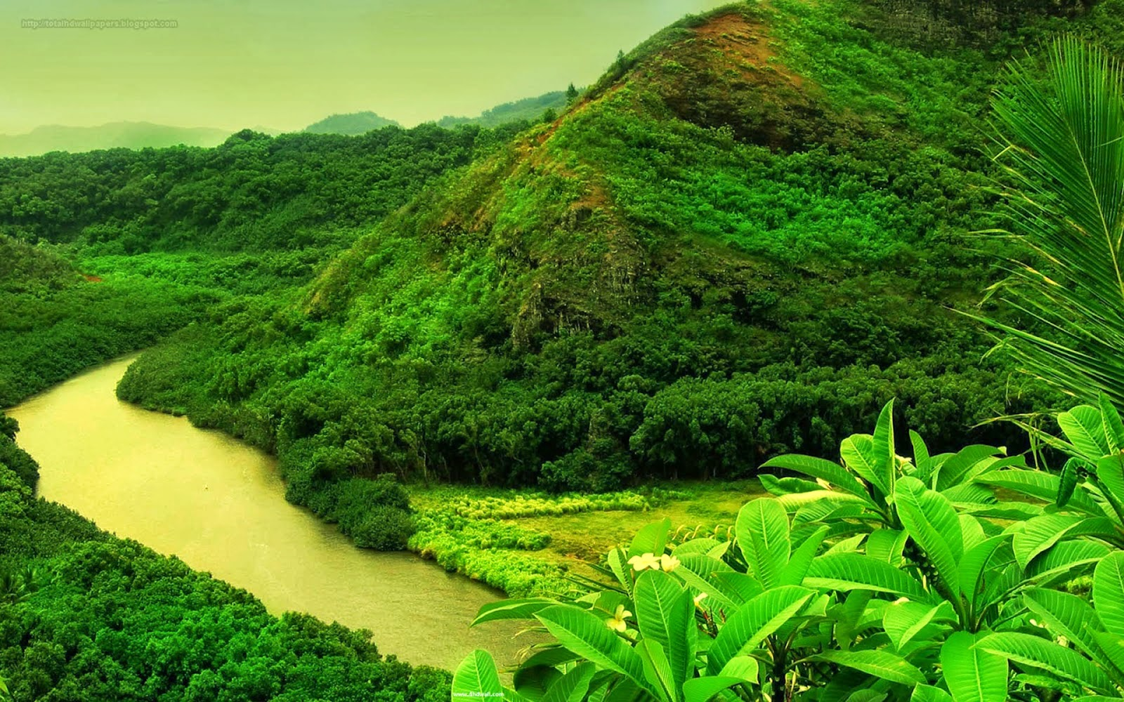 Beautiful Places Nature Green Mountain Images HD Wallpapers Free Downloads