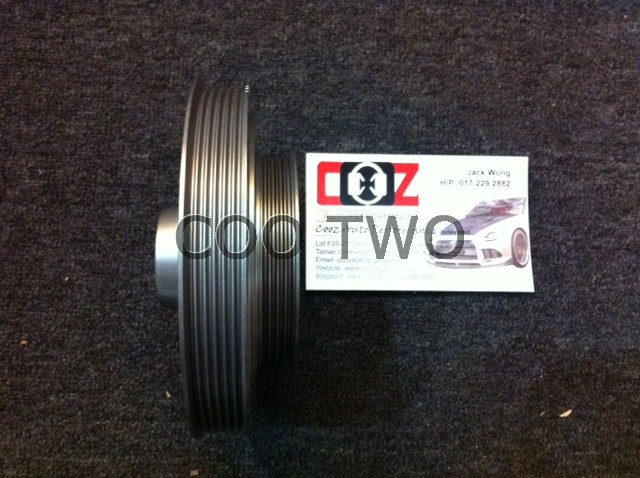 COO TWO AUTO PERFORMANCE  Redline Crank Pulley Honda H22A