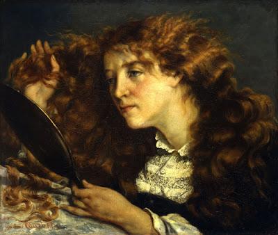 Courbet - La belle irlandaise