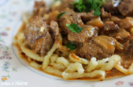 Beef Stroganoff (Slow Cooker Option)