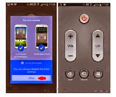 Membuat Hp Android Jadi Remote TV