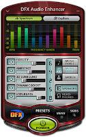 Cara memperbesar volume speaker laptop dengan menggunakan DFX Audio Enchancher 11.106