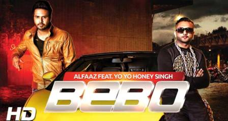 Bebo Lyrics - Alfaaz | Honey Singh