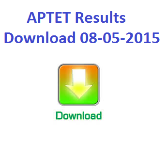 APTET Exam Marks Wise Results (8.05.2015)