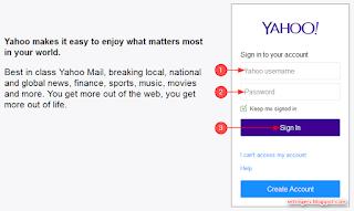 cara membuka email di yahoo mail terbaru