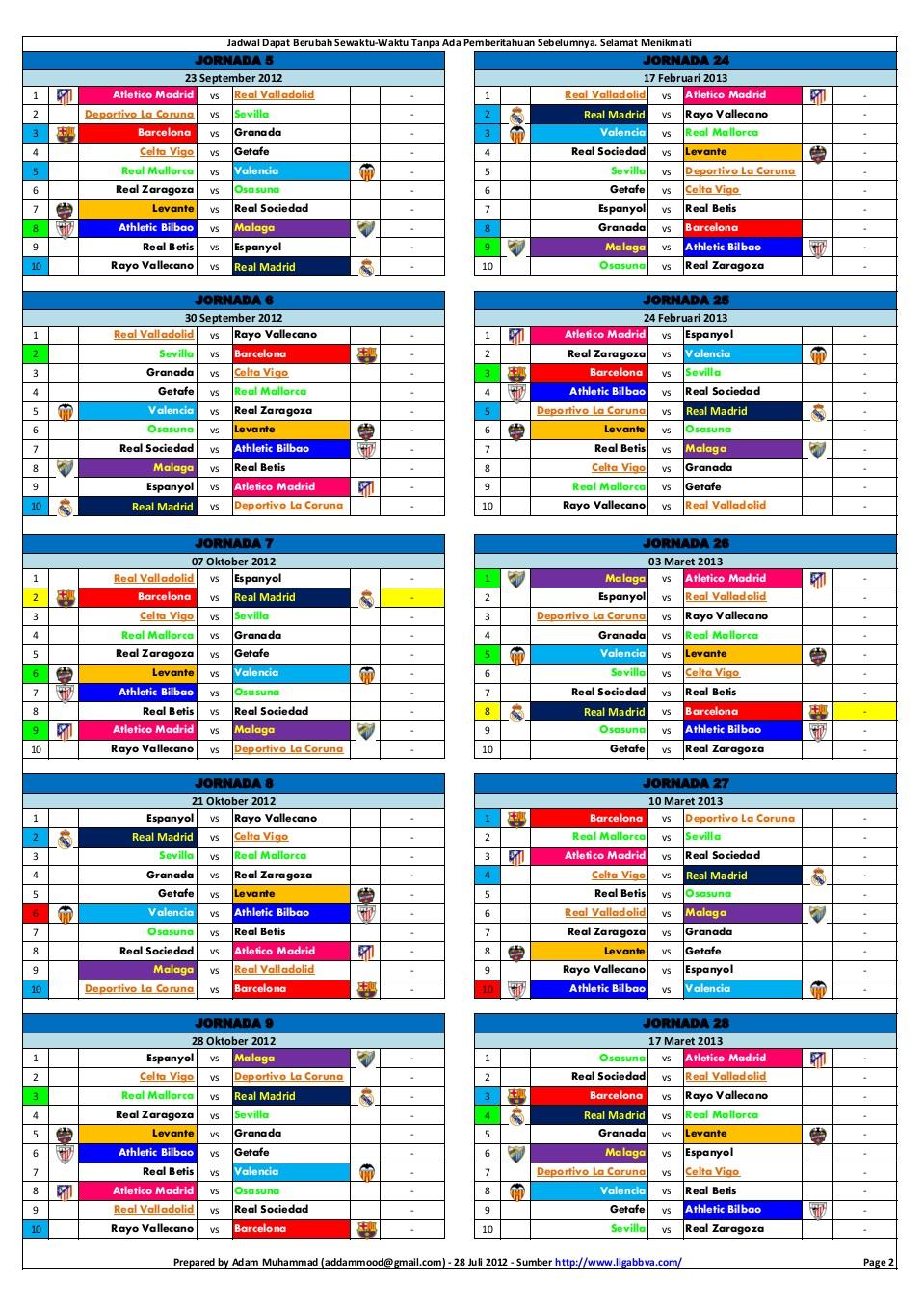 Nonton Liga Spanyol Online