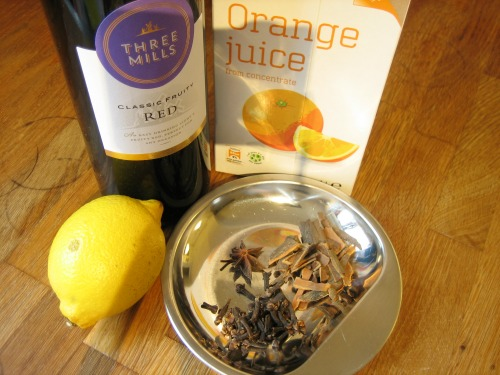 mulled wine ingredients - our handmade home