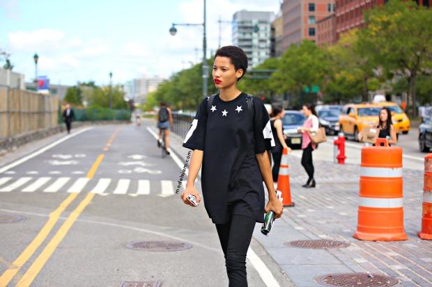 Lineisy Monteiro, New York, September 2015