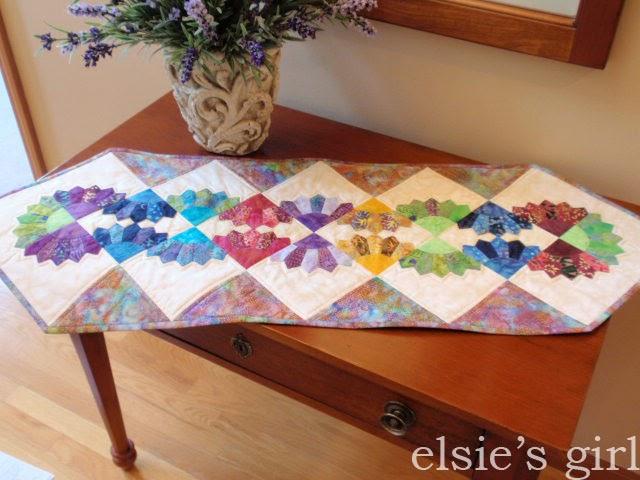 Elsie S Girl Batik Dresden Table Runner Free Pattern Review