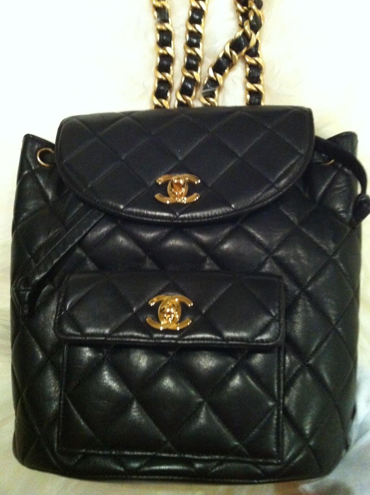 Love chanel vintage chanel backpack - Vintage chanel ...