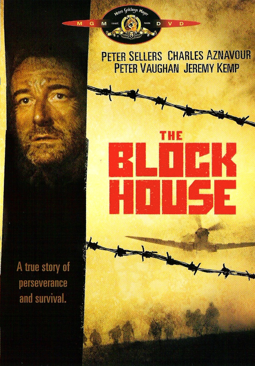 The Blockhouse Starring Peter Sellers DVD Cover
