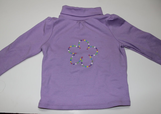 Mini boden inspired - sprinkles tee