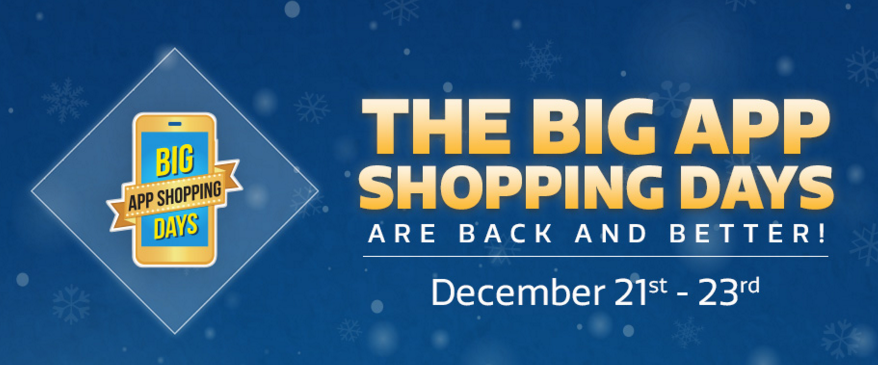 Flipkart Big App Shopping Days Sale