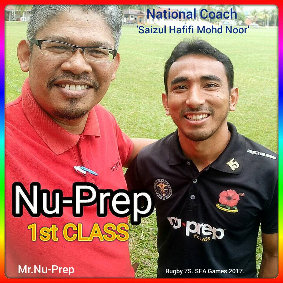 National Coach 'Rugby 7S' Sea Games 2017.