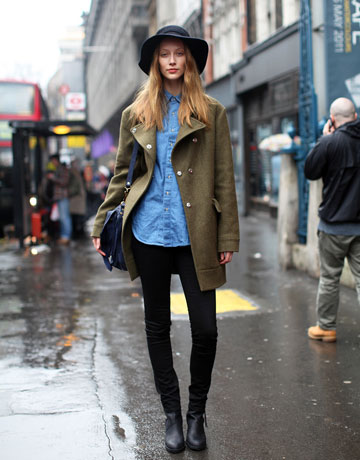 Cecilia Street Style London Fashion Week Fall 2011