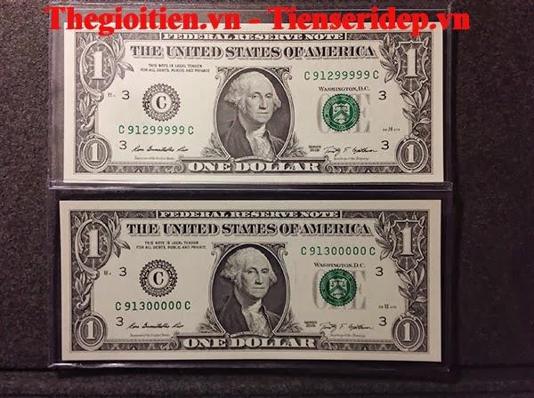 tiền seri đẹp ngũ quý 9