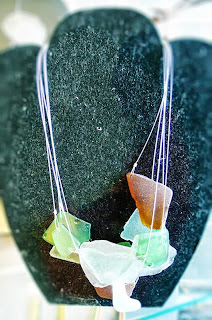 Beach Glass jewelry from Tru Origins Chicag
